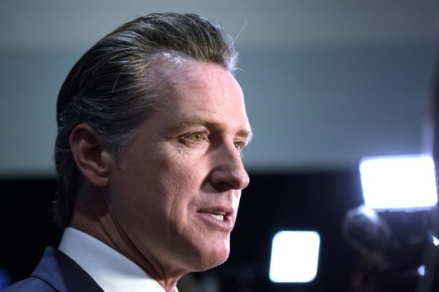 California governor eyes lockdown end but refuses to set date