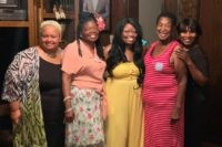 """In this photo provided by Steve Morgan, Mary Louise Brown Morgan, second from right, poses with relatives in the fall of 2019. The 78-year-old grandmother died March 27, 2020, after being diagnosed with the new coronavirus. Morgan was described by family members as a """"God-fearing woman,"""" who made a """"mean …"""