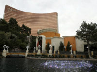 This Feb. 19, 2018, file photo, shows Wynn Las Vegas in Las Vegas. Las Vegas casino giant Wynn Resorts is in talks to buy Australia's largest casino operator, Crown Resorts. Crown, which owns casinos in Melbourne, Perth and London and will soon open another in Sydney, confirmed in a statement …