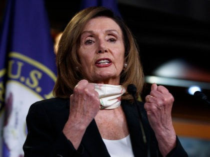 Pelosi: Evangelical, Catholic Trump Supporters 'Willing to Sell the Whole Democracy Down the River' over Abortion Issue