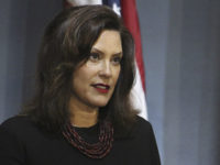 In this photo provided by the Michigan Executive Office of the Governor, Gov. Gretchen Whitmer speaks during a news conference Friday, May 29, 2020, in Lansing, Mich. Whitmer hinted that she will soon reopen more regions of Michigan, expressing optimism as long as the rate of new coronavirus cases continues …