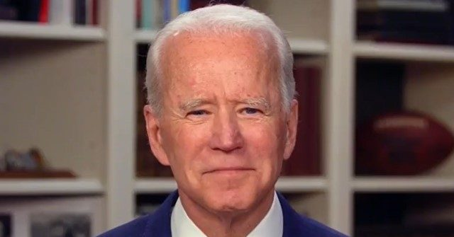 Breitbart Biden Denies Sexual Assault Accusation -- 'It Never, Never Happened' thumbnail