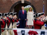 Trump at Fort McHenry: In USA, 'We Are the Captains of Our Own Fate'