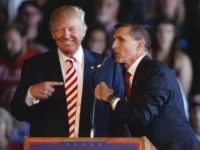 Donald Trump and Michael Flynn (George Frey / Getty)