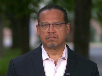 Minnesota AG Ellison: Trump Calling Rioters Thugs, Calling on Them to Get Shot 'the Same Sort of Attitude that Resulted in the Death of George Floyd'