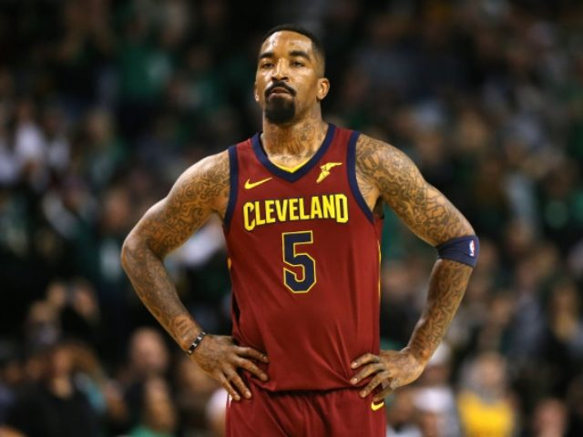 J.R. Smith beats up vehicle window-breaker in Los Angeles riot
