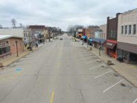 ROCKTON, ILLINOIS - MARCH 24: A normally busy Main Street is deserted as the small businesses that line the business district remain closed after the governor instituted a shelter-in-place order in an attempt to curtail the spread of the coronavirus (COVID-19) on March 24, 2020 in Rockton, Illinois. Rockton is …