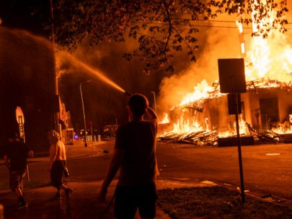 Video: Fires Rage Across Minneapolis Overnight in George Floyd Protests