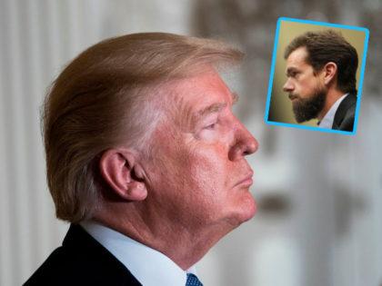 Trump, Dorsey