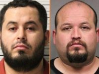 Raul Guzman (L) and Joe Rodriguez (R) escaped from a federal prison in Colorado. Captured by Border Patrol 11 hours later. (Photo: U.S. Federal Bureau of Prisons)