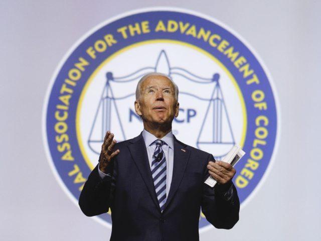 Joe Biden NAACP (Bill Pugliano / Getty)