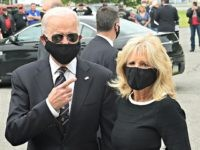 Donald Trump: 'Very Unusual' Joe Biden Wearing Mask Outside with Wife