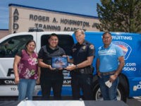 José Nuñez Romaniz, 19, was rewarded by the Albuquerque Police Department for returning $135,000 in cash that he found at an ATM.