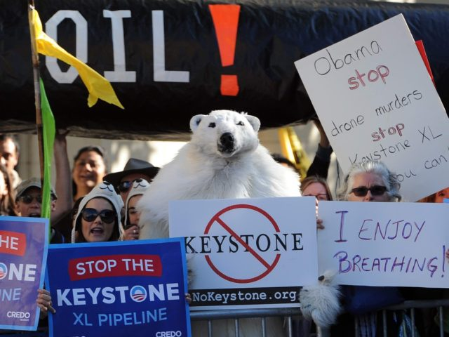Keystone XL protest (Jewel Samad / AFP / Getty)