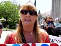 PA Protester Kim Giambrone