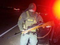 Laredo South Station Border Patrol agents recovered a stolen rifle near the Texas-Mexico border. (Photo: U.S. Border Patrol/Laredo Sector)