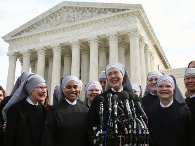 Little Sisters of the Poor (Mark Wilson / Getty)