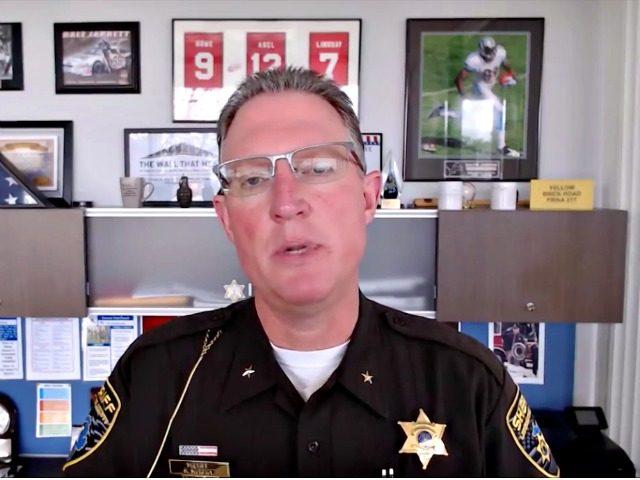 Livingston County Sheriff Mike Murphy