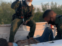 Laredo Sector Border Patrol agents provided first aid to a Mexican illegal alien who became injured after illegally entering the United States. (Photo: U.S. Border Patrol/Laredo Sector)