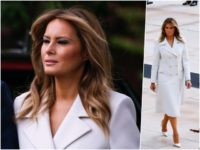 Fashion Notes: Melania Trump Observes Memorial Day in Luxurious Gucci Coat