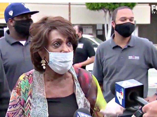 Maxine Waters Attacks Trump