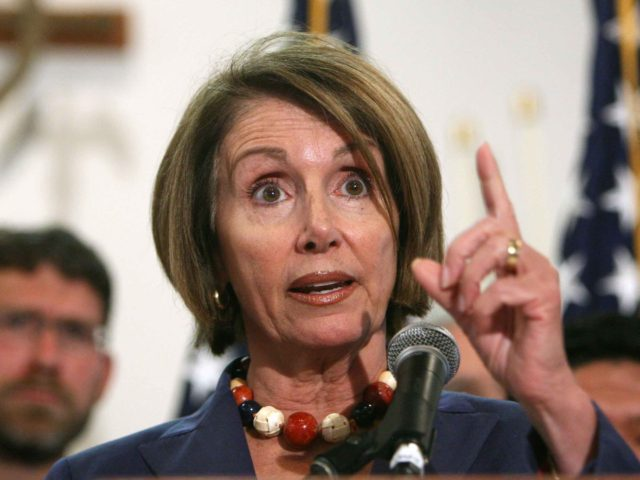 Nancy Pelosi (Justin Sullivan / Getty)