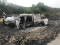 Torched Armored Vehicles Found After Mexican Border State Cartel Shootout
