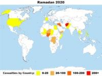 Ramadan Rage: 2020 Logs 30% More Jihadist Attacks than 2019 Despite Coronavirus