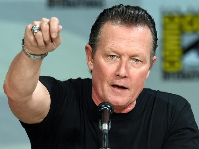 "SAN DIEGO, CA - JULY 24: Actor Robert Patrick attends the ""Scorpion"" premiere screening and panel during Comic-Con International 2014 at the San Diego Convention Center on July 24, 2014 in San Diego, California. (Photo by Ethan Miller/Getty Images)"