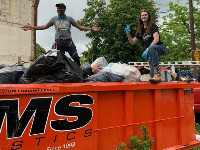 Scott Presler's clean up America and register voters campaign began after President Donald Trump spoke out about Democrat-controlled cities such as Baltimore being in decay, with streets filled with trash, hypodermic needles, and homeless people.