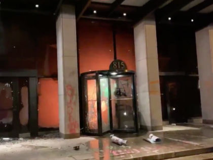Watch: Rioters in Washington, D.C. Set Fire to AFL-CIO Union Offices