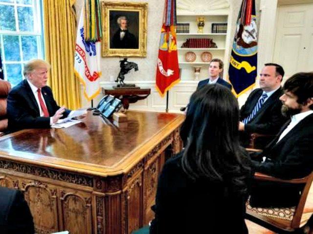 Trump Meets with Jack Dorsey