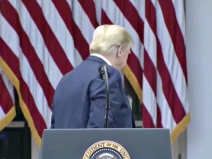 Trump Terminates Press Conference
