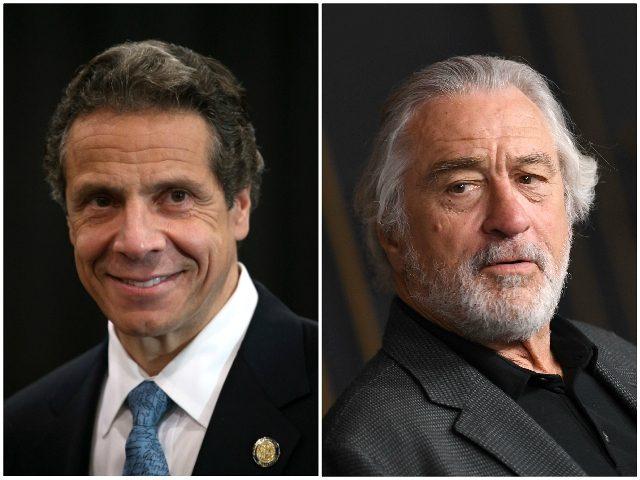 Robert De Niro wants to play Andrew Cuomo in a coronavirus flick