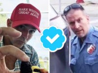 Twitter Verified Users Spread Fake Pic, Link MN Cop to Racist Slogan