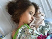 fighting cancer When doctors discovered that 5-year-old Rosie Schutter had alarge Wilm's tumor on her kidney in October, they immediately took action, according to a GoFundMe page set up to help the family with medical expenses.