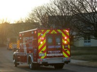 WILLOWBROOK, ILLINOIS - MARCH 17: An ambulance arrives at the Chateau Nursing and Rehab Center on March 17, 2020 in Willowbrook, Illinois. Earlier today Illinois Gov. J.B. Pritzker announced that 18 patients and 4 staff members at an Illinois nursing home reported to be the Chateau facility have tested positive …