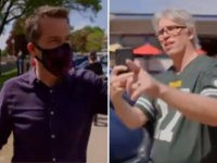 Watch: WI Man Busts MSNBC for Mask-Shaming While Cameraman Is Maskless