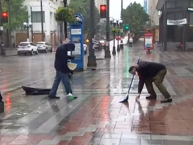 Volunteers Clean Up Downtown Seattle After Riots, Looting