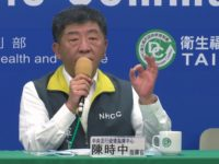 In this image made from a video, Taiwan's Health Minister Chen Shih-chung speaks at a press conference in Taipei, Taiwan Wednesday, May 6, 2020. Taiwan's exclusion from the upcoming World Health Assembly would harm the global response to the coronavirus pandemic and cannot be excused by mere rules of procedure, …