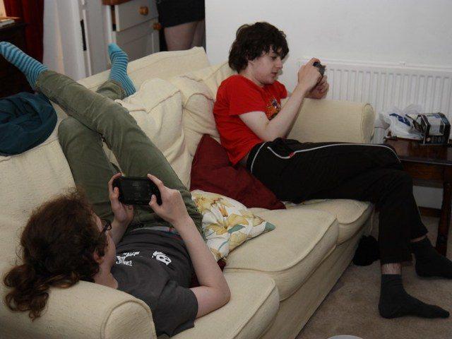 teenage gamers