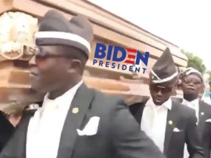 trump-dancing-pallbearers-biden-campaign