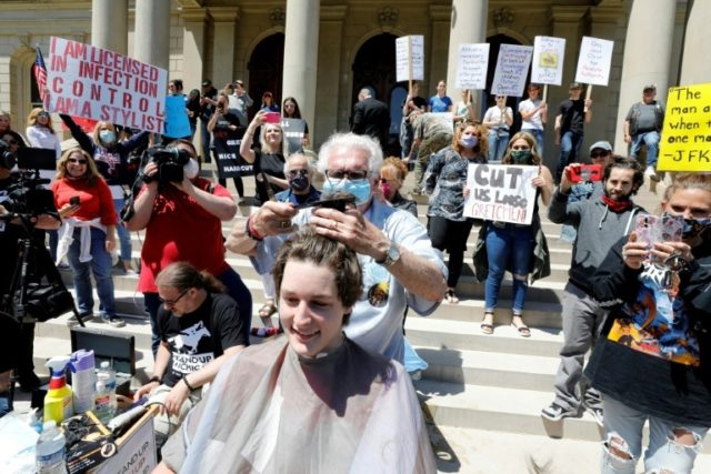 Michigan protesters launch 'Operation Haircut' over lockdown