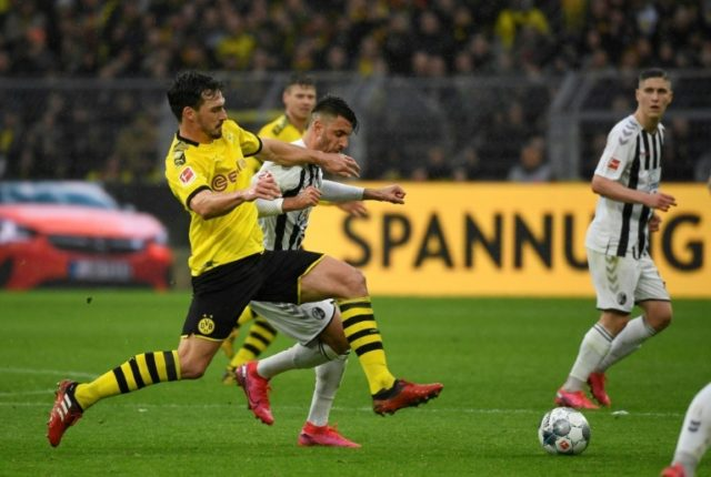 Hummels '99 percent' ready for Dortmund's showdown with Bayern
