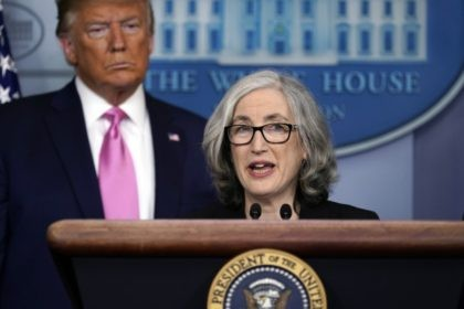 CDC In this Feb. 26, 2020, file photo, Anne Schuchat, principal deputy director of the Centers for Disease Control and Prevention, speaks during a news conference about the coronavirus in the Brady Press Briefing Room of the White House in Washington, as President Donald Trump stands behind her. The U.S. …