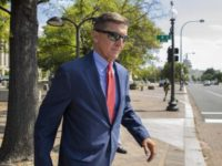 In this Sept. 10, 2019 file photo, Michael Flynn, President Donald Trump's former national security adviser, leaves the federal court following a status conference in Washington. FBI Director Christopher Wray has ordered an internal review into possible misconduct in the investigation of former Trump administration national security adviser Michael Flynn. …