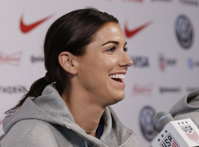 Soccer star Alex Morgan announces birth of her daughter, Charlie Elena Carrasco
