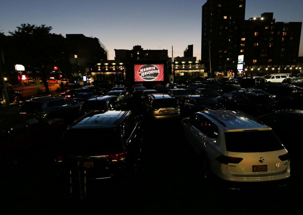 Pop Up Drive In Theaters Bring Movies Back In New Jersey New York Breitbart