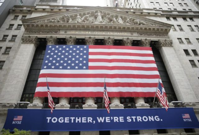 Wall Street opens modestly higher following mixed U.S. data releases