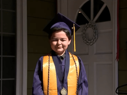 Jack Rico of La Mirada, California, took home four associate's degrees from Fullerton College in California at the age of 13 last week -- and he is far from finished.